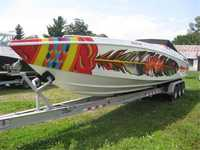 1997 Windsor Michigan 36 Apache 36 Warrior