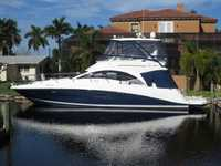 2008 Ft Myers Florida 47 Sea Ray 47 Sedan Bridge