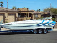2009 Lake Havasu Arizona 27 Nordic Lightning Deck Boat
