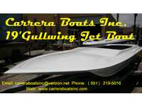 2014 Hemet California 19 Carrera Boats Inc 19 Carrera Boats Gullwing Jet Boat