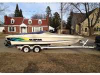 1995 Neenah Wisconsin 22 Wellcraft Scarab