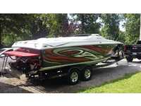 2007 New Johnsonville Tennessee 26 Baja Outlaw 26 sst