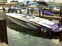 2004 Miami Florida 38 Cigarette Top Gun
