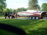 1996 Saginaw Michigan 32 Sunsation Dominator