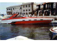 1987 san diego California 42 Chris Craft Stinger
