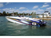 2004 Miami Florida 37 Cigarette 38' TOP GUN SPECIAL EDITION