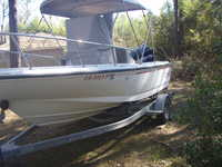 1996 Mandeville Louisiana 17 Boston Whaler Outrage II